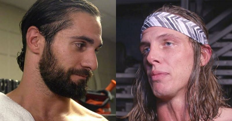 Seth Rollins and Matt Riddle.