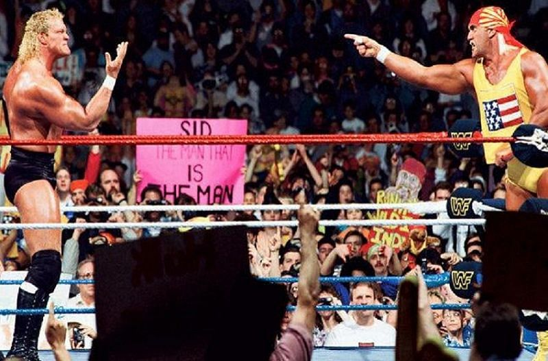 Sid eliminating and betraying Hogan gave us the main event of WrestleMania VIII