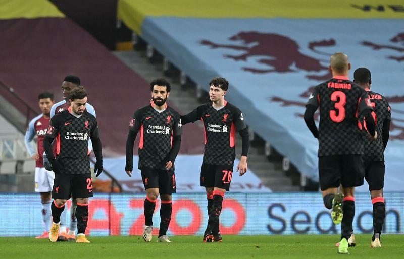 Jurgen Klopp named a remarkably strong Liverpool side tonight, including Mo Salah and Fabinho.