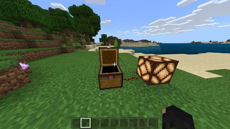 Open trapped chest