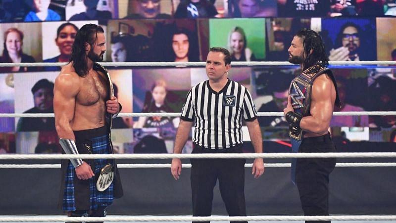Roman Reigns won the Champion vs. Champion match at Survivor Series