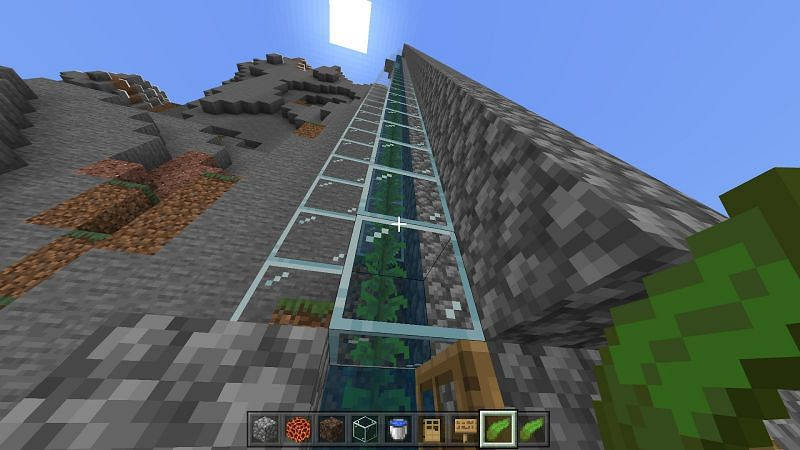 Turn all the flowing water into source blocks