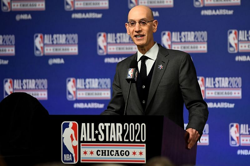 2020 NBA All-Star - NBA Commissioner Adam Silver Press Conference