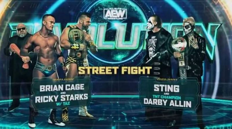 A huge street fight will take place at AEW Revolution