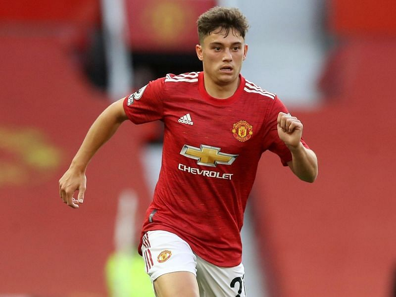 Daniel James has failed to impress at Manchester United.