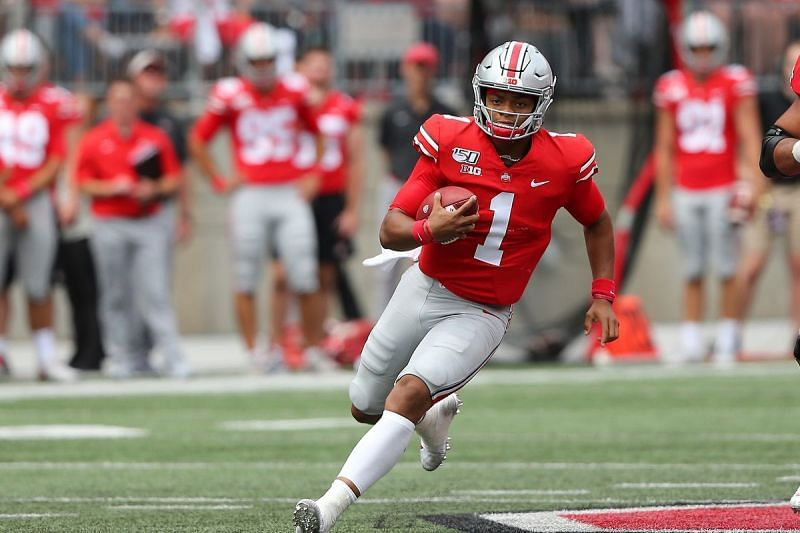 Justin Fields at Ohio State