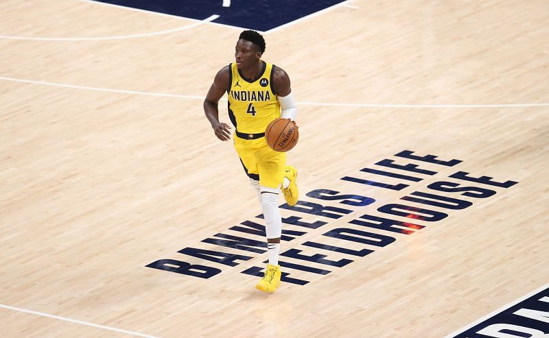 Victor Oladipo was traded to the Houston Rockets from the Indiana Pacers as a part of the massive James Harden move