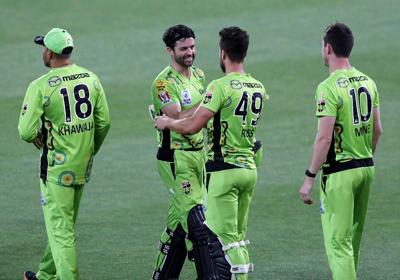 The Sydney Thunder assured themselves of a BBL play-off berth