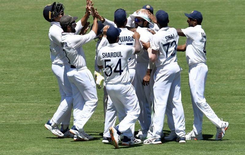 Team India. Pic: BCCI/ Twitter