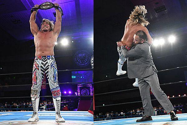Hiroshi Tanahashi put on a stunning performance to win the NEVER Openweight Championship from Shingo Takagi at NJPW