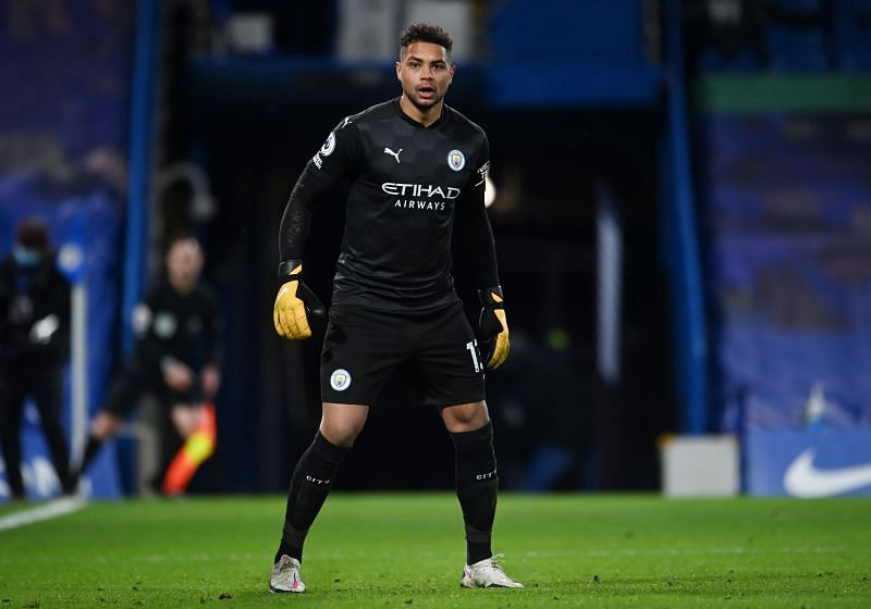 Debutant Zack Steffen was one of several enforced changes for Manchester City