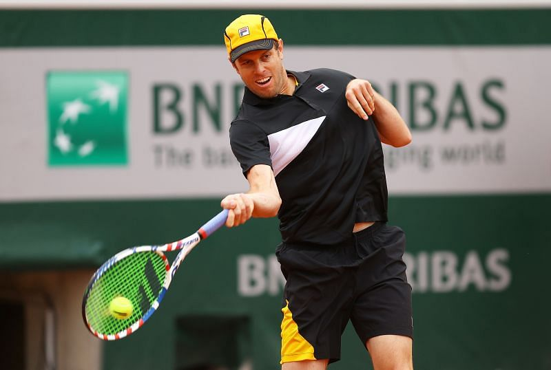 Sam Querrey at the 2020 French Open