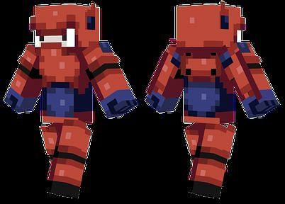 Baymax Minecraft Skin