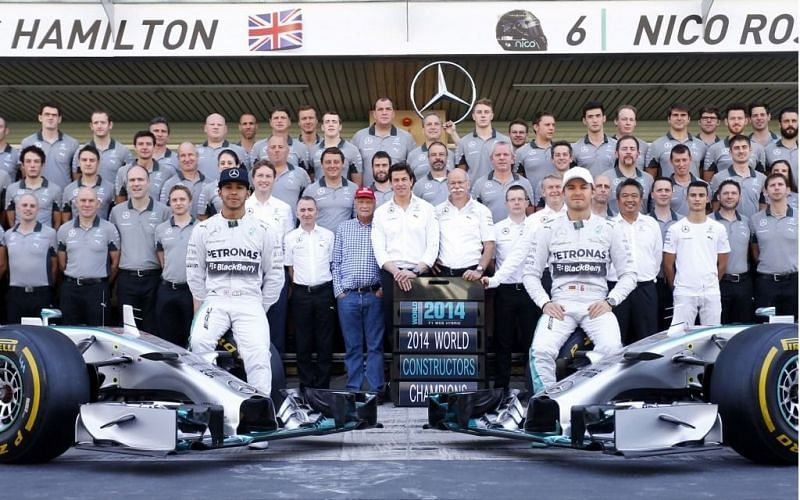 Mercedes have produced the fastest cars on the grid since 2014.