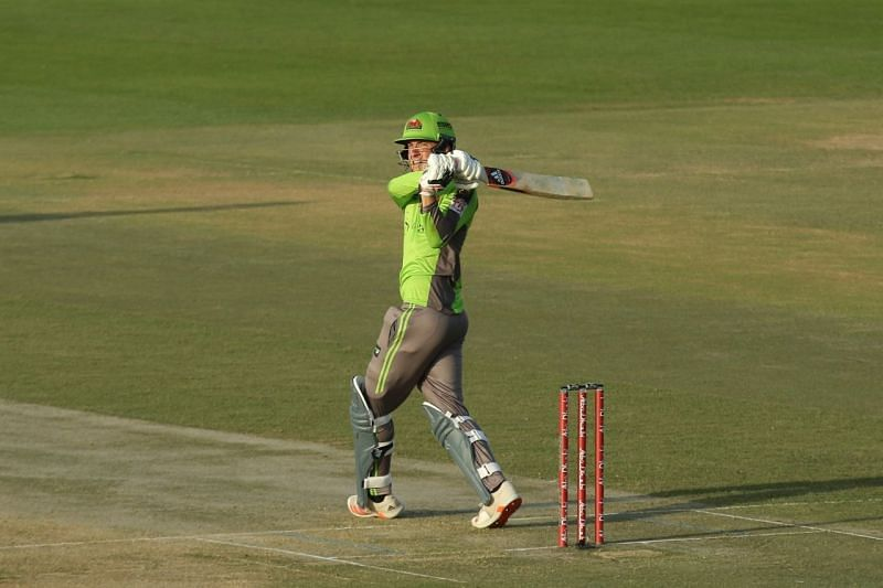 Tom Banton top-scored for the Qalandars with a quick 45