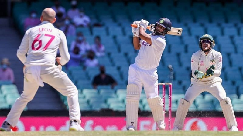 Rishabh Pant ended the Test Series as Team India