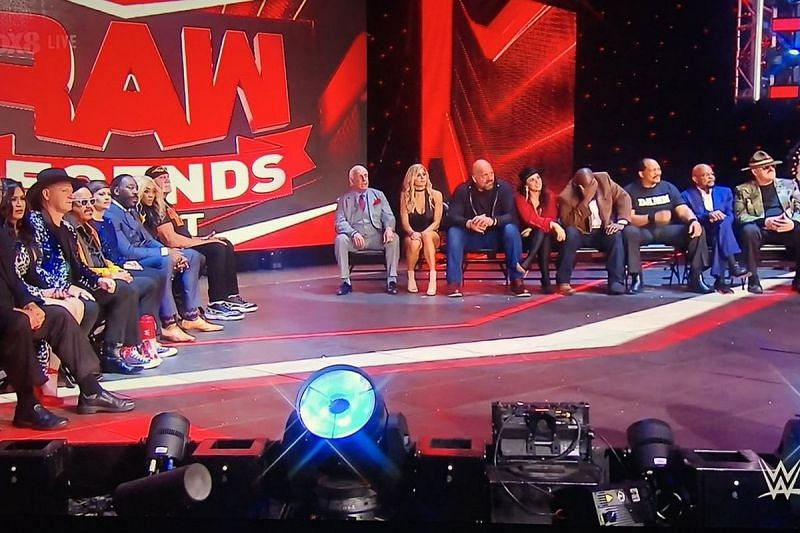 A number of WWE legends appeared on RAW legends night