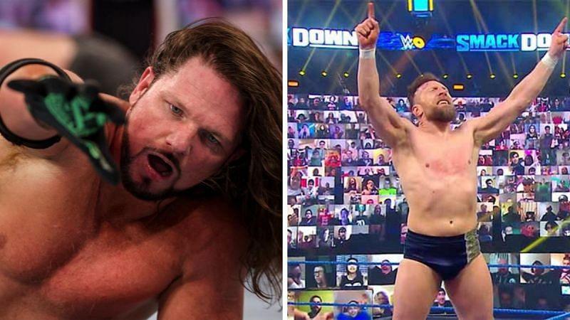 AJ Styles and Daniel Bryan