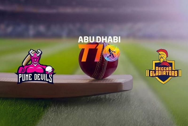 Pune Devils beat the Deccan Gladiators by 7 wickets in today's Abu Dhabi T10 2021 encounter.