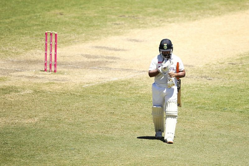 Rishabh Pant played a heroic knock of 97 in the second innings of the third Test.