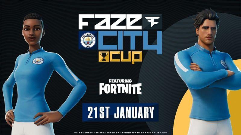 Image via Epic Games, Manchester City, & FaZe Clan