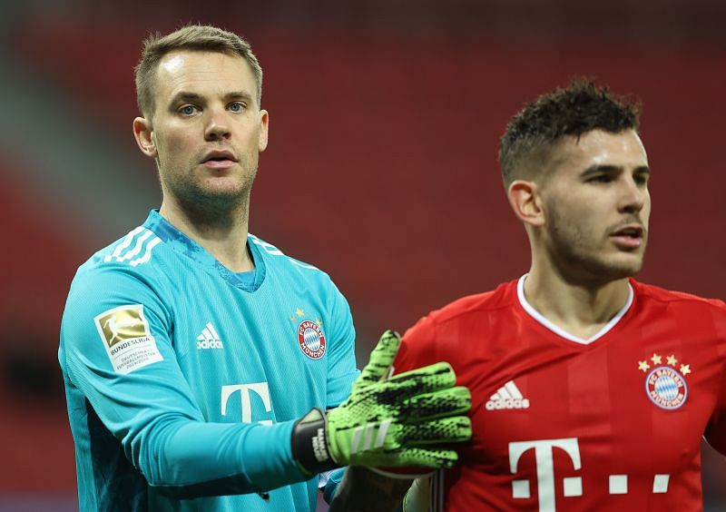 Manuel Neuer has not kept a clean sheet in his last nine appearances.