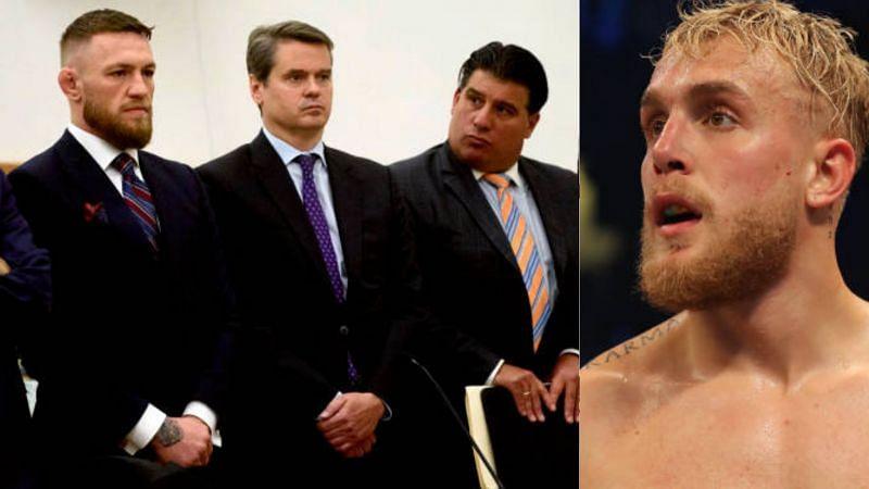Can Conor McGregor sue Jake Paul?