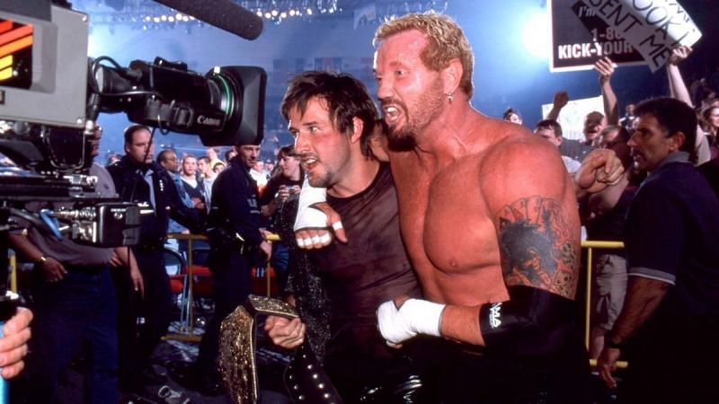 David Arquette and DDP