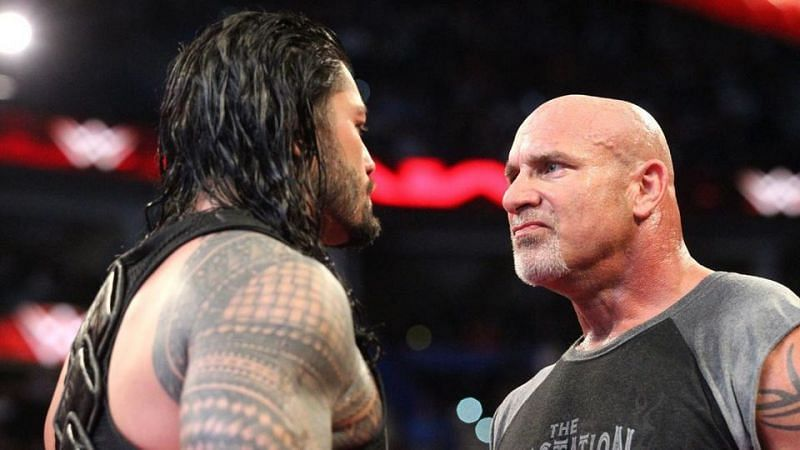 Roman Reigns versus Goldberg has all the makings of something great.