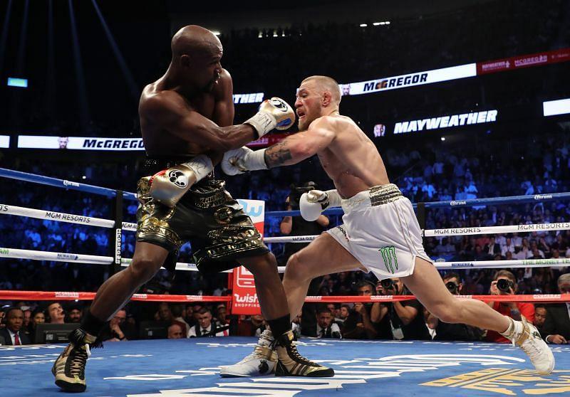Floyd Mayweather Jr. v Conor McGregor