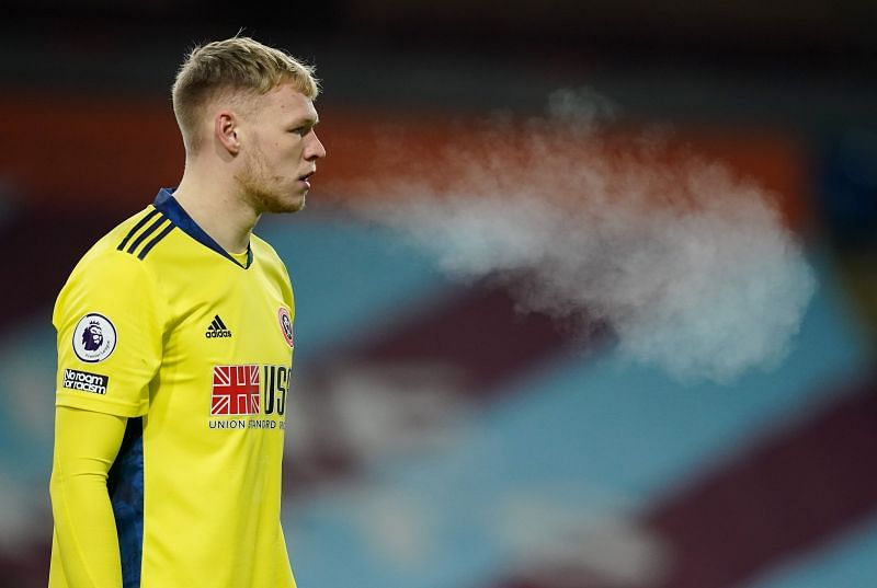 Sheffield United goalkeeper Aaron Ramsdale is yet to keep a clean sheet in the Premier League this season