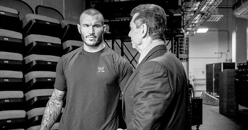 Randy Orton and Vince McMahon