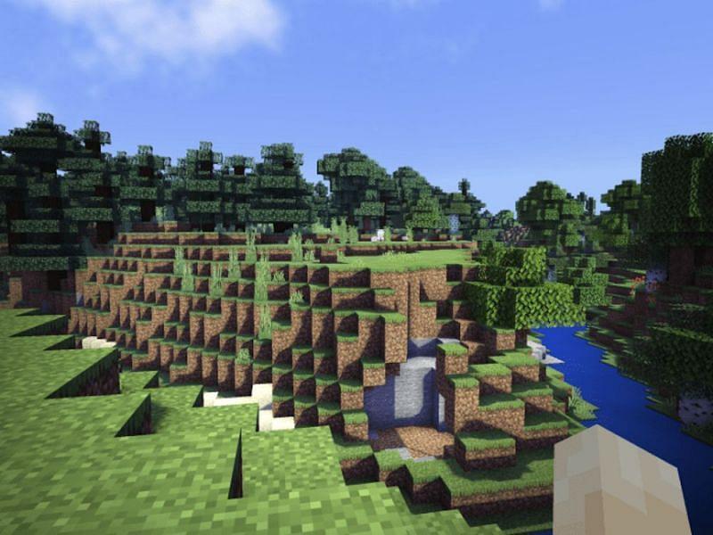 Reflex PE Shaders (Image via Minecraft)