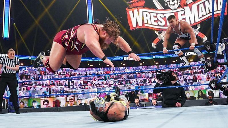 Otis shocks the WWE Universe yet again