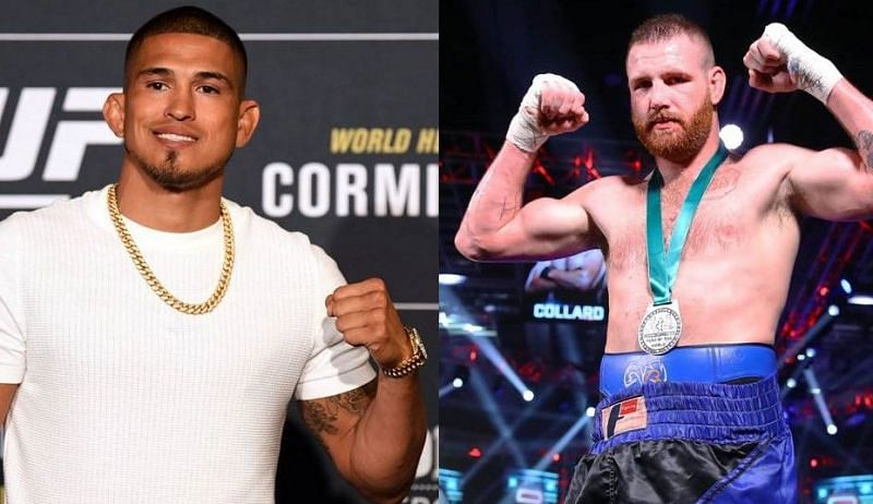 Anthony Pettis (left); Clay Collard (right)