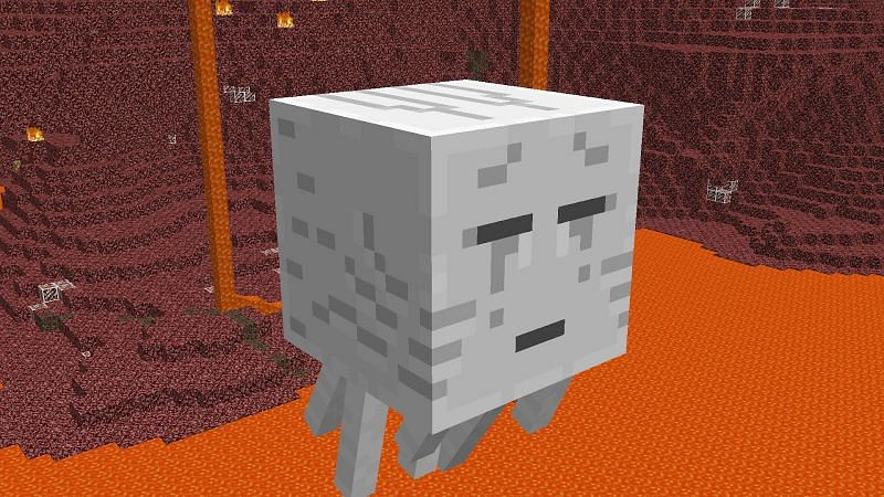 Spooky ghasts are guilty of scaring many Minecrafters