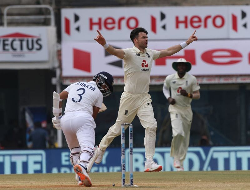 James Anderson impressed in the first Test against India