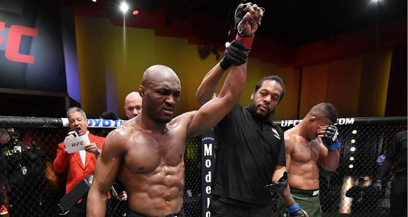 Kamaru Usman has received a potential six-month medical suspension after his UFC 258 win over Gilbert Burns