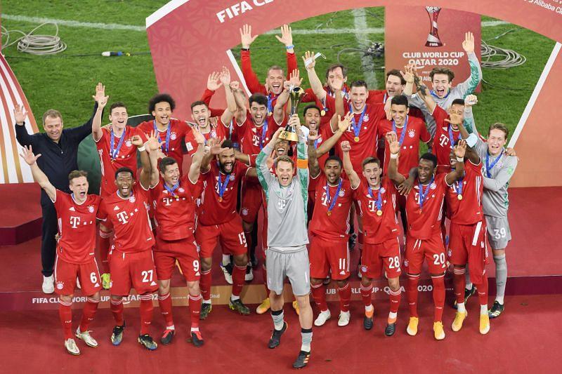 Bayern Munich will play their first match as Club World Champions