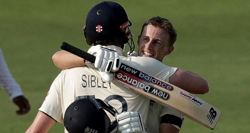 Joe Root celebrates his 20th Test century (Credit: ECB)