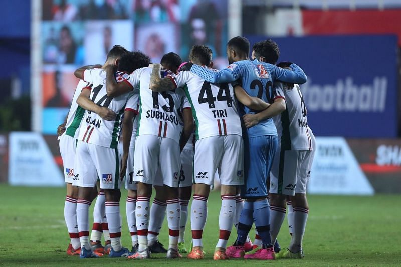 ATK Mohun Bagan FC are second in the ISL table. (Image: ISL)