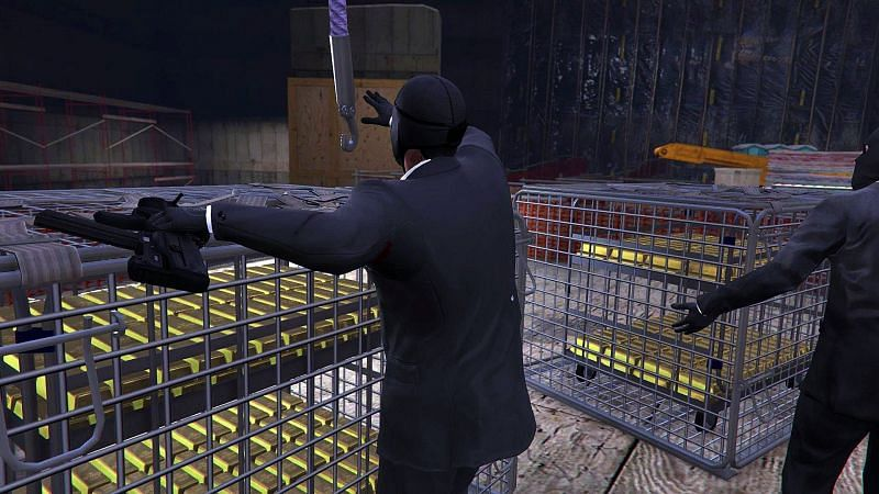 The Big Score in GTA V (Image via IGN)