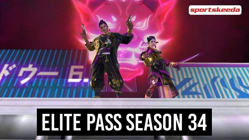 Elite Pass Season 33 came out on February 1st, and its theme is Fuji Folklore (Image via Sportskeeda)