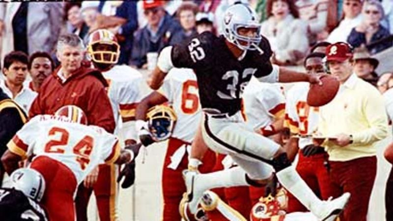 Marcus Allen is the only NFL player in history to win four prestigious awards