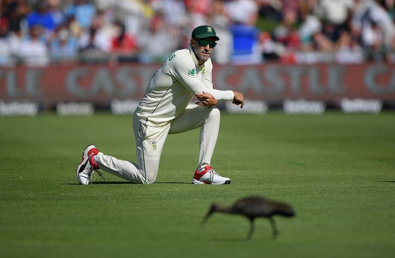 Faf du Plessis announced his retirement from Test cricket