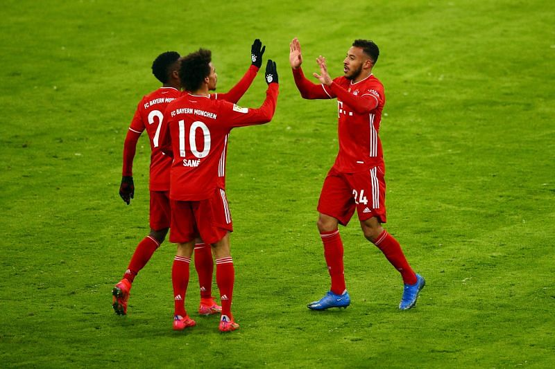 Bayern Muenchen had to battle from two goals down to rescue a 3-3 draw against Arminia Bielefeld