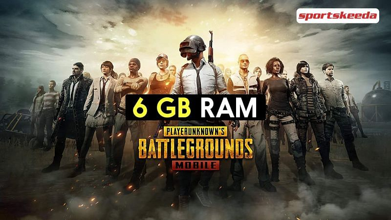 Android games like PUBG Mobile for 6 GB RAM devices