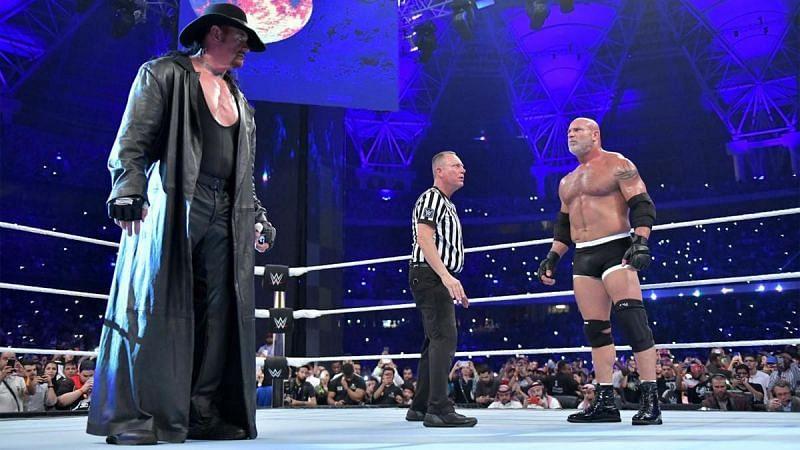Goldberg and Undertaker in WWE