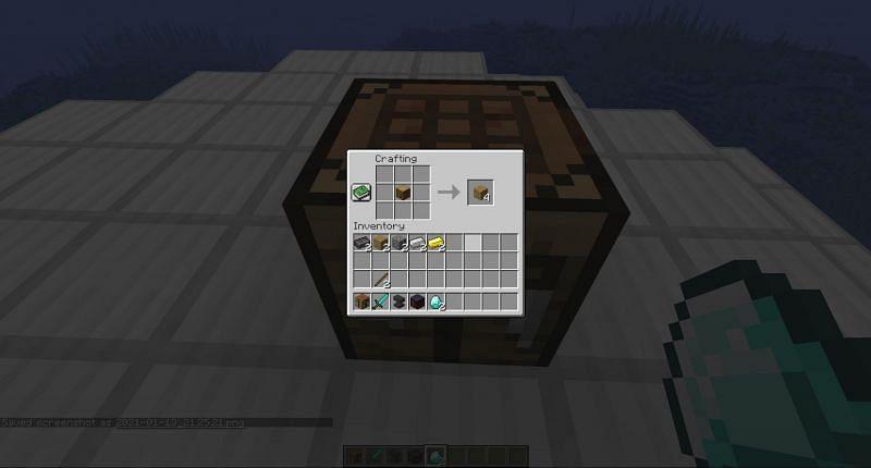 Wooden Plank in Minecraft