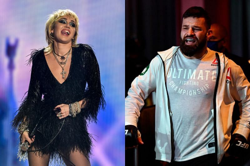 Julian Marquez asks Miley Cyrus to be his Valentine